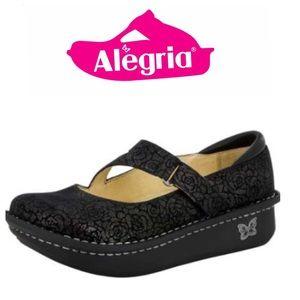 Alegria Dayna Pewter Florette. Size 12